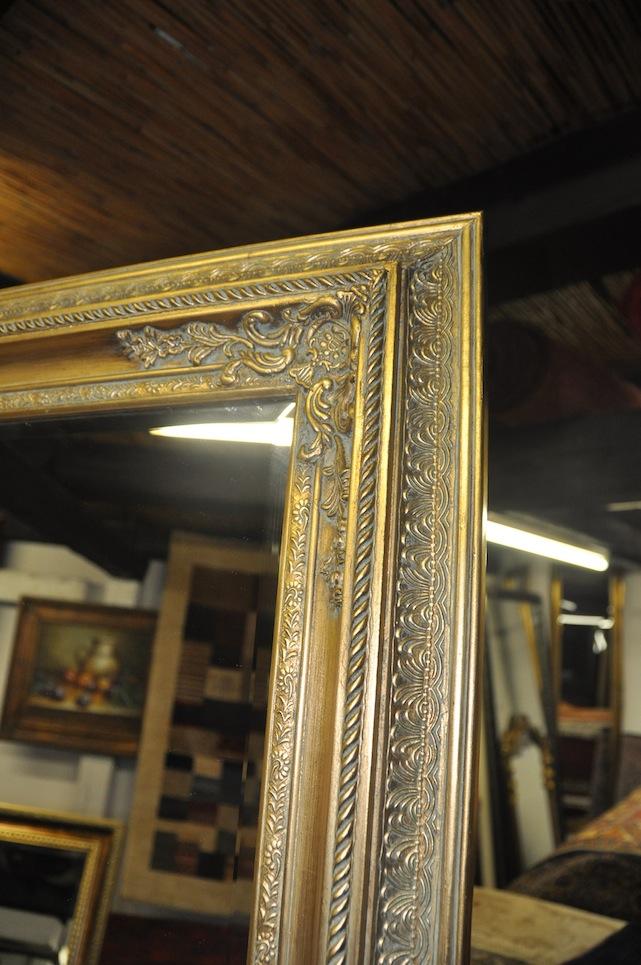 barock wandspiegel zierspiegel goldspiegel 60 x 140 cm. Black Bedroom Furniture Sets. Home Design Ideas