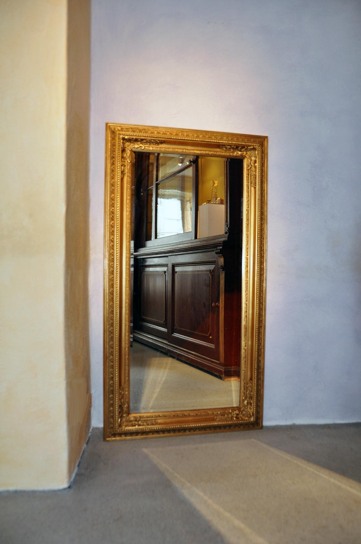 Barock prunkspiegel wandspiegel zierspiegel goldspiegel 60 for Spiegel 60x180