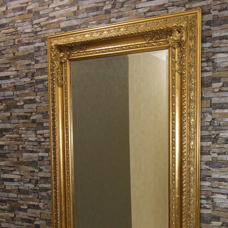 barock wandspiegel weiss 91 x 181 cm zierspiegel spiegel. Black Bedroom Furniture Sets. Home Design Ideas