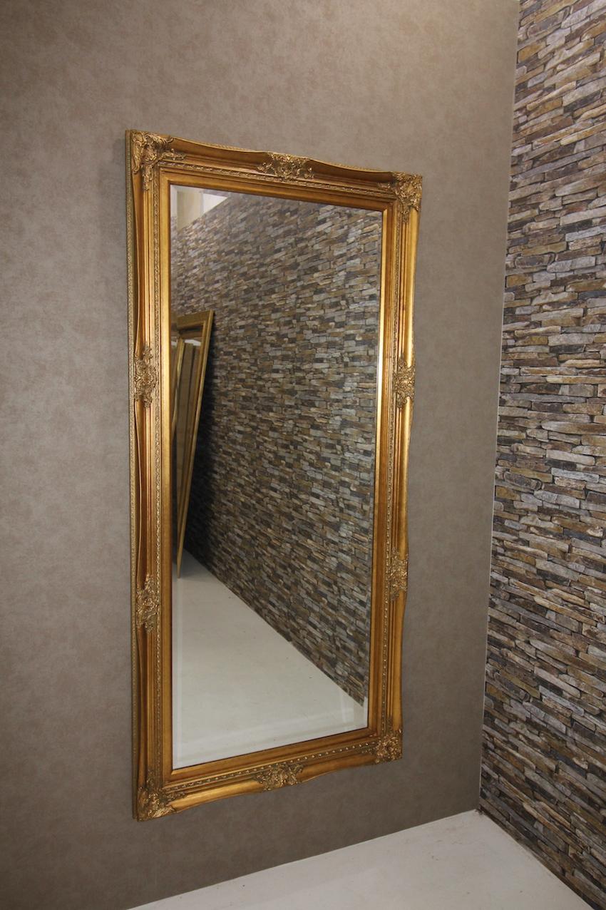 wandspiegel barock gold 170x80cm zierspiegel rahmenspiegel standspiegel. Black Bedroom Furniture Sets. Home Design Ideas