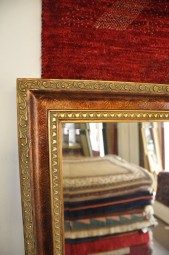 Spiegel mit Verzierungen Gold