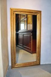 Barock Prunkspiegel 60 x 140 cm Wandspiegel Zierspiegel Goldspiegel