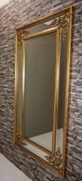 Barock-Wandspiegel Modern Gold