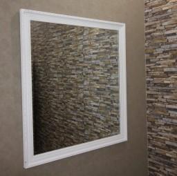 Wandspiegel Elfenbeinweiß