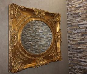 Barock Wand-/Zierspiegel Gold
