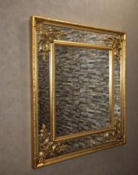 Barock-Wandspiegel/Zierspiegel Gold