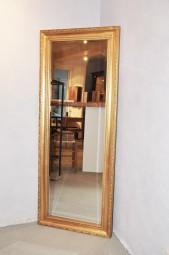 Antik-Goldspiegel