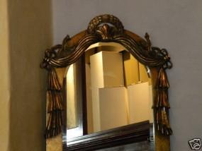 Antiker Wandspiegel Gold