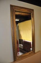 Wand-/Zierspiegel Gold